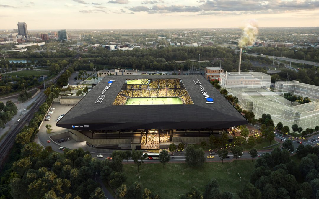 The opening of Columbus Crew's new stadium marks a beacon for the city