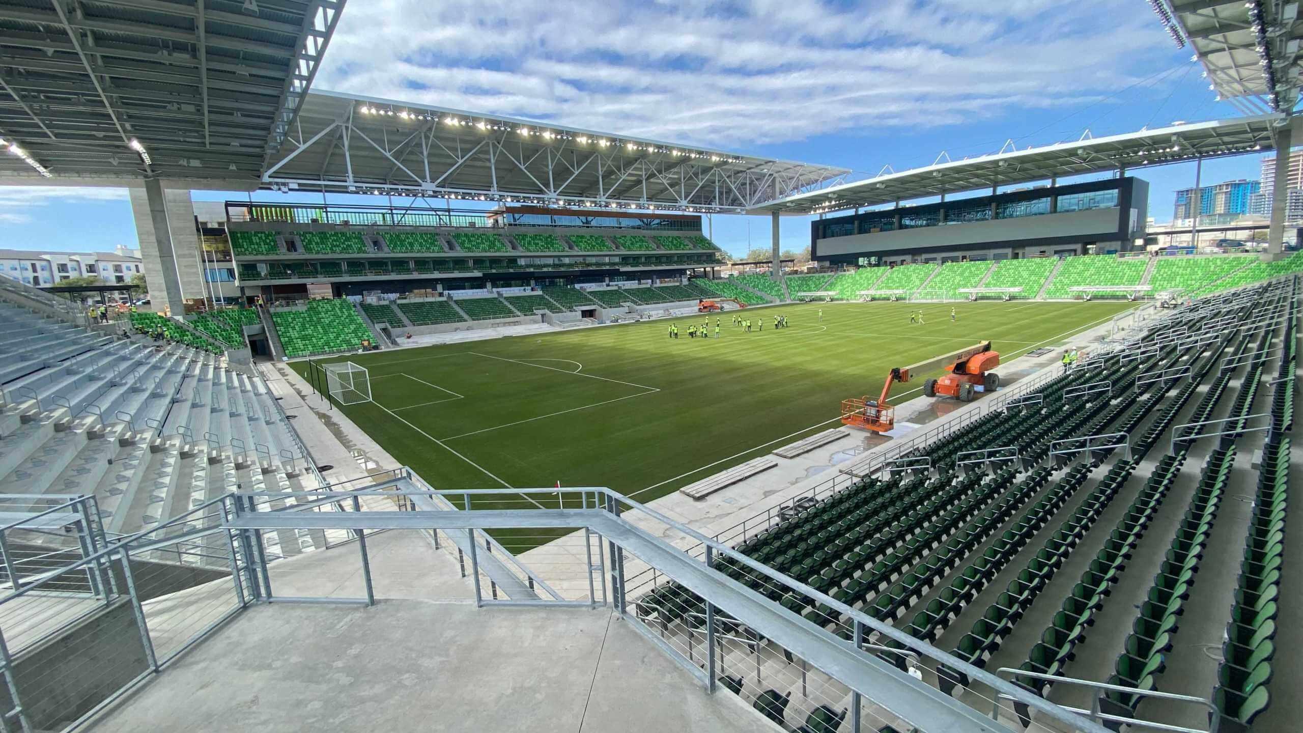 Austin FC Q2 Stadium - SCG Field portfolio